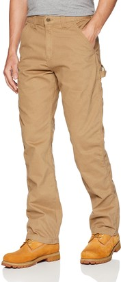 Carhartt Men's Relaxed-Fit Washed Twill Dungaree Pant - Brown -