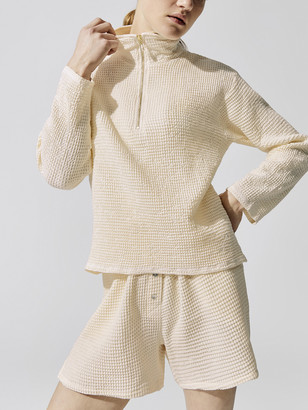 Donni Waffle 1/2 Zip Pullover