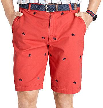 Izod Crab-Patterned Shorts