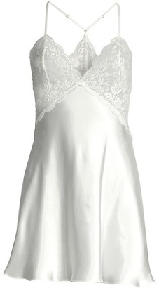 In Bloom Say Yes Lace & Satin Chemise