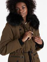 Lucky Brand Fur Hood Parka