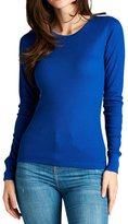 The Lovely Women Long Sleeve Crew Neck Thermal Tee Shirt Top