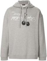 Raf Simons Ripe Metal print hoodie