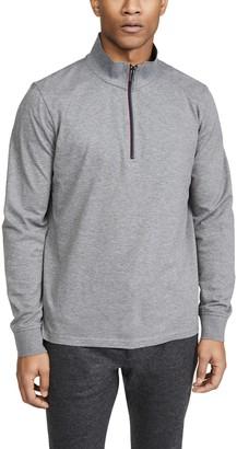 Paul Smith Long Sleeve Quarter Zip Polo Shirt
