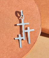 Silver Cross Moda Designs Women's Pendants SILVER - Sterling Pendant