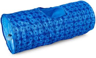 Isaac Mizrahi Blue Daisy Crinkle Cat Tunnel