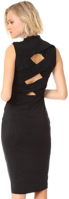 KENDALL + KYLIE Women's Twisted Body-con Dress