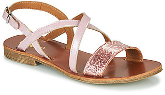 GBB FAVOLA girls's Sandals in Pink