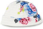 Joules Newborn-12 Months Baby Bonnet Reversible Jersey Hat