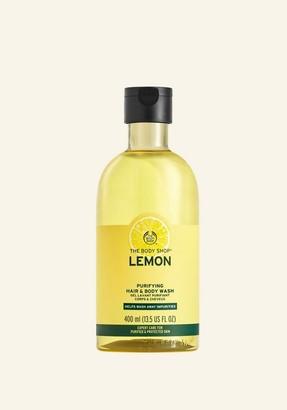 The Body Shop Lemon Purifying Hair & Body Wash
