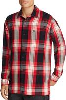 True Religion Long Sleeve Plaid Pocket Shirt