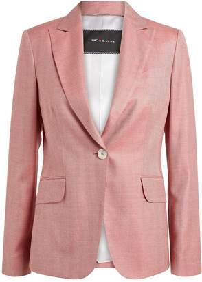 Kiton Linen Blazer Jacket