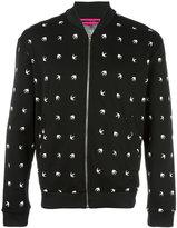 McQ by Alexander McQueen dove pattern bomber jacket - men - Polyamide/Spandex/Elastane - M