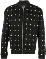 McQ by Alexander McQueen dove pattern bomber jacket - men - Polyamide/Spandex/Elastane - XL
