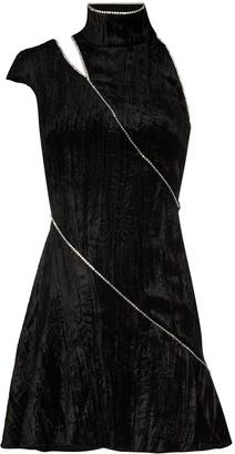 16Arlington Dahlia crystal-detail mini dress