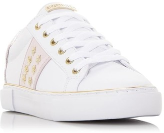 GUESS Gamer 5 Side Stripe Star Detail Trainers
