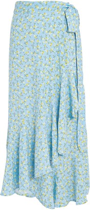 Faithfull The Brand Aubrie Floral Wrap Skirt