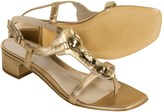Aquatalia by Marvin K Gem Leather Sandals - Thongs (For Women)