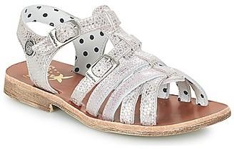 Catimini SAULE girls's Sandals in Silver