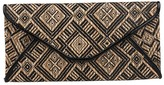 Urban Expressions Woven Clutch