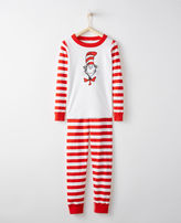 Hanna Andersson Dr. Seuss Long John Pajamas In Organic Cotton
