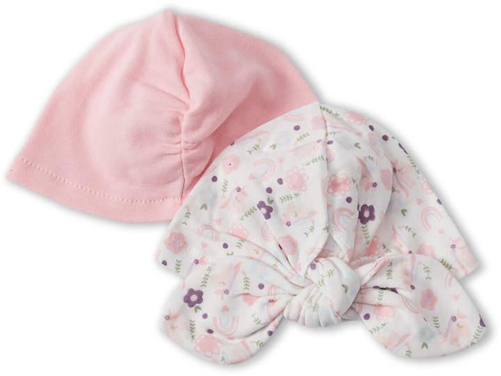5c79444d3 Chick Pea (Newborn Girls) Two-Pack Unicorn & Solid Turban Hats