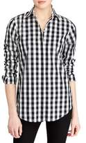 Lauren Ralph Lauren Gingham-Print Cotton Button-Down Shirt