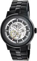 Kenneth Cole New York Watch, Men's Automatic Black Ion Plated Stainless Steel Bracelet 46mm KC3981