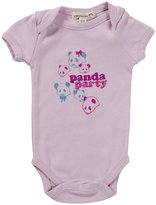 Appaman Panda Bodysuit (Baby) - Seashell-6-12 Months