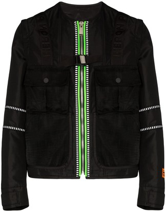 Heron Preston Utility Zip-Up Jacket