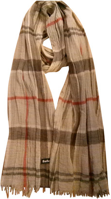 Barbour Grey Cotton Scarves