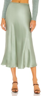 Divine Heritage Bias Cut Skirt