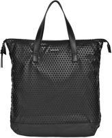 Diesel Faux Leather & Rubberized Print Tote Bag