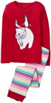 Crazy 8 Sparkle Polar Bear 2-Piece Pajama Set