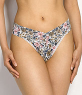Hanky Panky Vintage Blossom Original-Rise Lace Thong