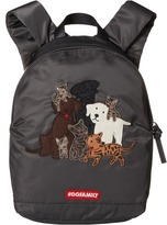 Dolce & Gabbana Patch Canine Nylon Backpack