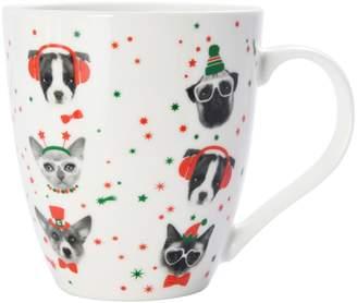 Pfaltzgraff Christmas Dogs Mug