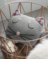 Kitty Knit Pillow