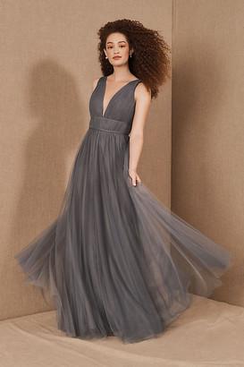 Jenny Yoo Sarita Dress By in Grey Size 0