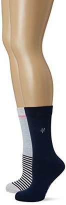 Marc O'Polo Body & Beach Women's Legwear W-socks 2-pack Calf,(size: 403) (Pack of 2