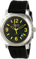 TKO ORLOGI Women's TK549-YB Unisex Milano Remixed Black Strap Watch
