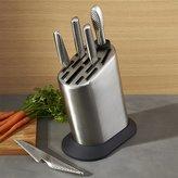 Crate & Barrel Global ® 6-Piece Knife Block Set
