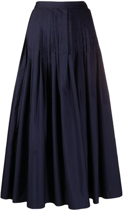 Barena Pleated Midi Skirt