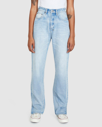 Ksubi Playback Jeans Melrose Split Blue