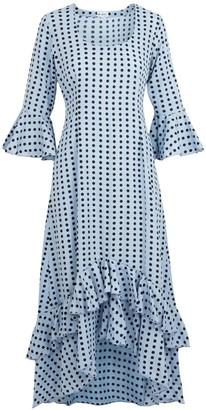 AtLAST Victoria Dress Blue Spot