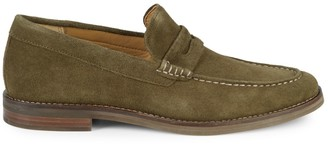 Sperry Suede Penny Loafers
