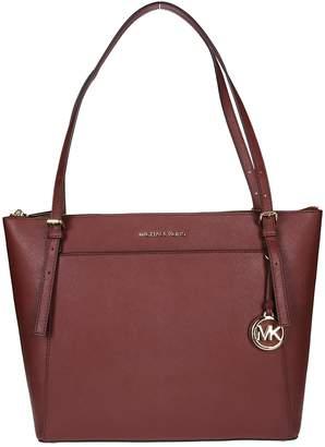 Michael Kors Burgundy Tote Bag