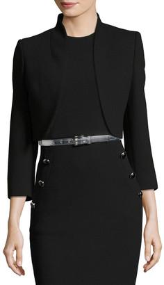 Michael Kors Collection Wool Bolero Jacket