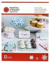 Martha Stewart Crafts - Merry And Bright Tent Cards 12 Pc