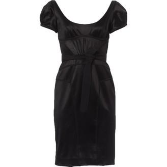 Zac Posen Black Viscose Dresses